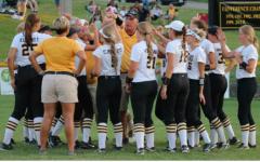 Softball Team Slaps Missouri Valley in Season Opener