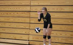 Volleyball Girls Compete in First Home Contest