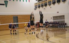Trojan Volleyball Gets a Set on Denison