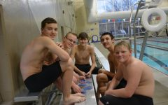Boys Swim Competes at Boone Meet