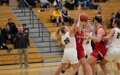 Girls Basketball Loses First Conference Contest