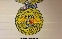 The Atlantic FFA Chapter elected a new President after the old President graduated at semester.