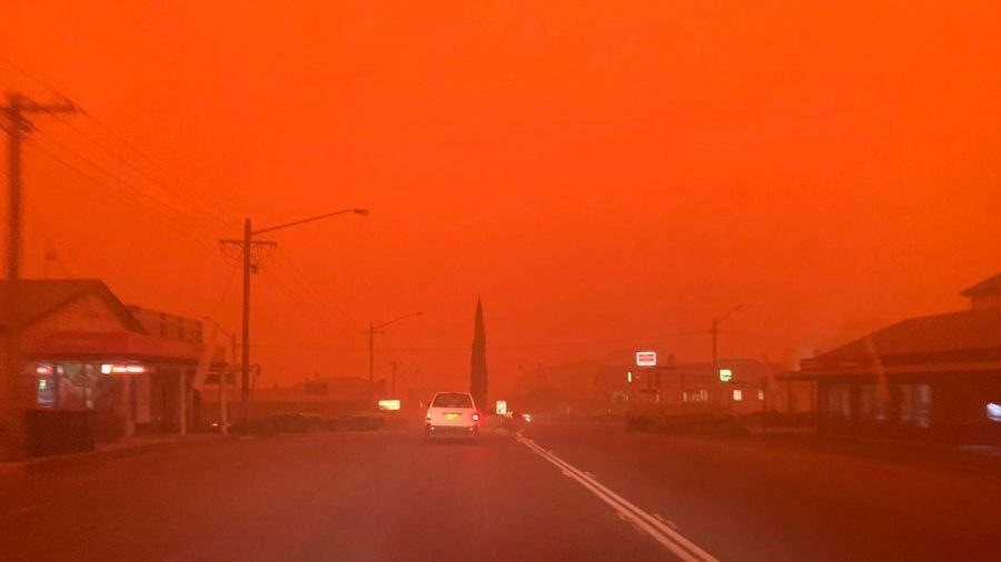 As+a+result+from+the+fires%2C+the+skies+have+turned+scary+colors+in+Australia.