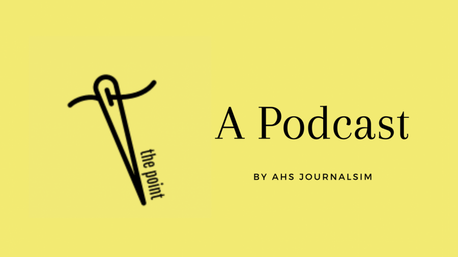 The Point is AHS' new podcast. In this edition, host Molly McFadden chats with junior Camryn Church about the spring musical.