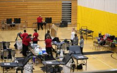 Atlantic's NHS chapter hosts at least two blood drives a year, one in the fall and in one in the spring.