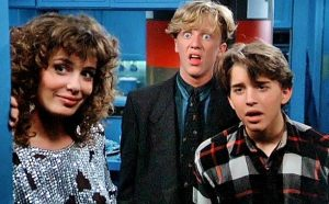 Weird Science was released Aug., 2 1985 starring Anthony Michael Hall and Ilan Mitchell Smith.