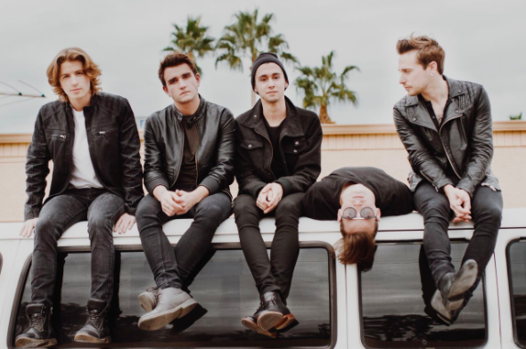 The Wrecks are an indie rock band from Los Angeles, CA.