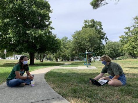 """Former science teacher Valerie Jaehrling sits down for an interview. She said in an email sent to students, """"You are the reason leaving is difficult."""""""