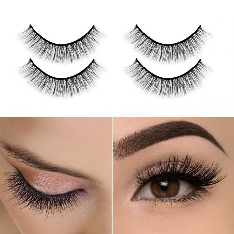 While trendy, false eyelashes can be harmful to the eyes when worn regularly.