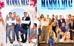 """Mamma Mia! Here We Go Again"" came out in 2018, and its predecessor ""Mamma Mia!,"" came out in 2008. The original cast returned for the second film."