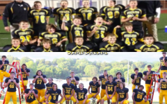 The senior football players face changes each day like other students at AHS. The Trojans have had many changes since they were Steelers.