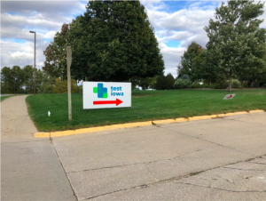 Testing for COVID is available at Cass County Memorial Hospital for those who were exposed or are exhibiting symptoms.