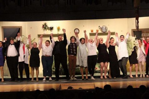 The cast of last year's spring musical