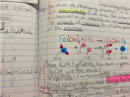 Many students around AHS use colorful pens to take notes. Some classes require hand written notes, while others don't.