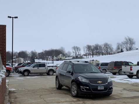 Located behind the school, the south parking lot is reserved only for ACSD staff and faculty members. Students are not allowed to park here from the hours of 7:30 a.m. to 3:30 p.m., but they may do so after school during activities practices.