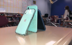 Students often have their cell phones in class. I believe that it causes a disruption and is a sign of blatant disrespect that shouldn't go unnoted.