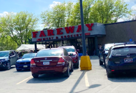 Fareway is one of the local businesses that employs many students.