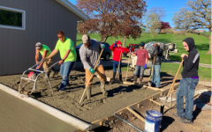 The Trades Program focuses a lot on working together. Students who took the class learned valuable skills to use later in life.