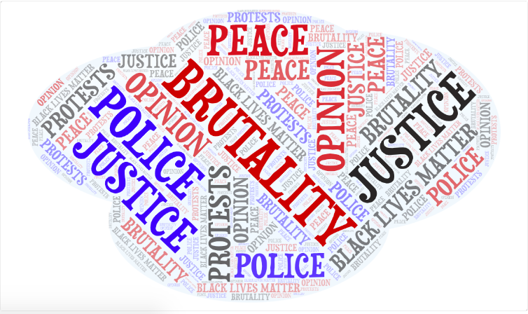 An+uproar+in+protests+have+spiraled+due+to+the+recent+police+related+death.+