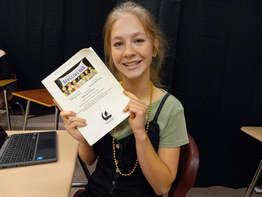 Junior Katie Birge will play Marcie in The 25th Annual Putnam County Spelling Bee musical.