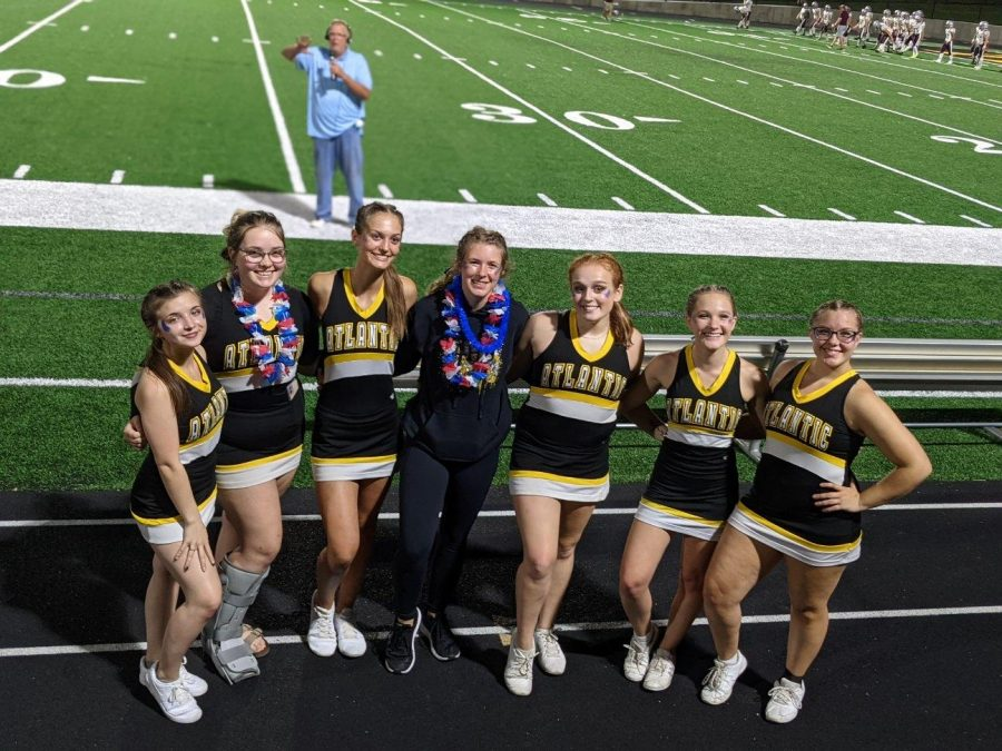 The+senior+cheerleaders+are+excited+for+their+last+season+as+a+team.+