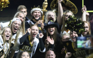 Last year, the seniors won the spirit stick. The game was held on Fri. October 23. This was the first game held at the new Trojan bowl facility.