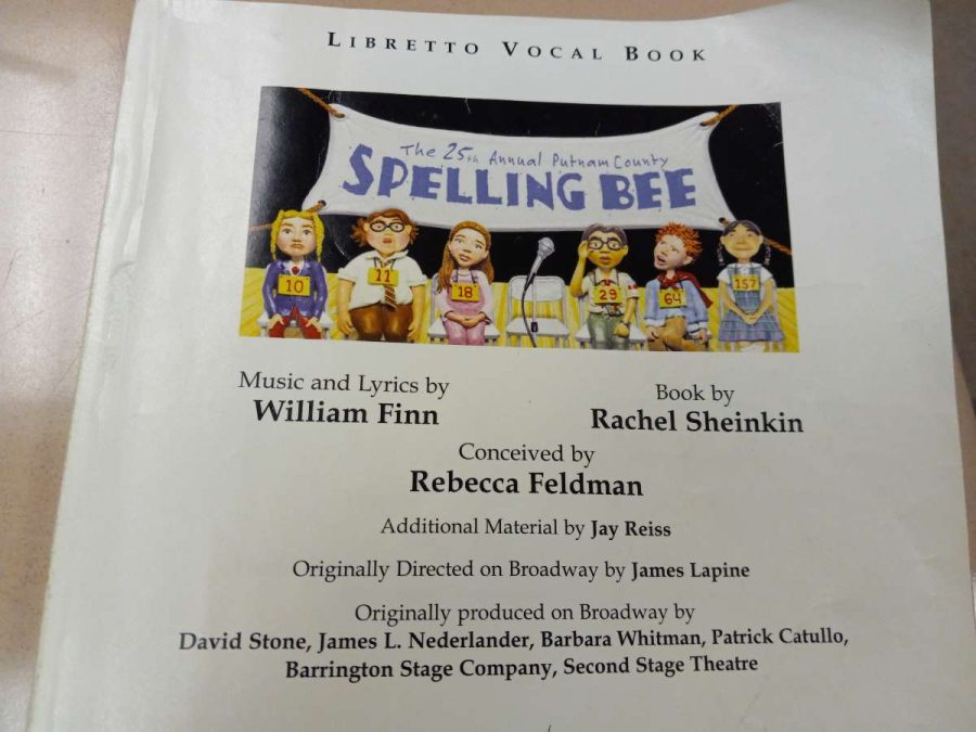 Scripts for the fall musical are now in the hands of the cast.